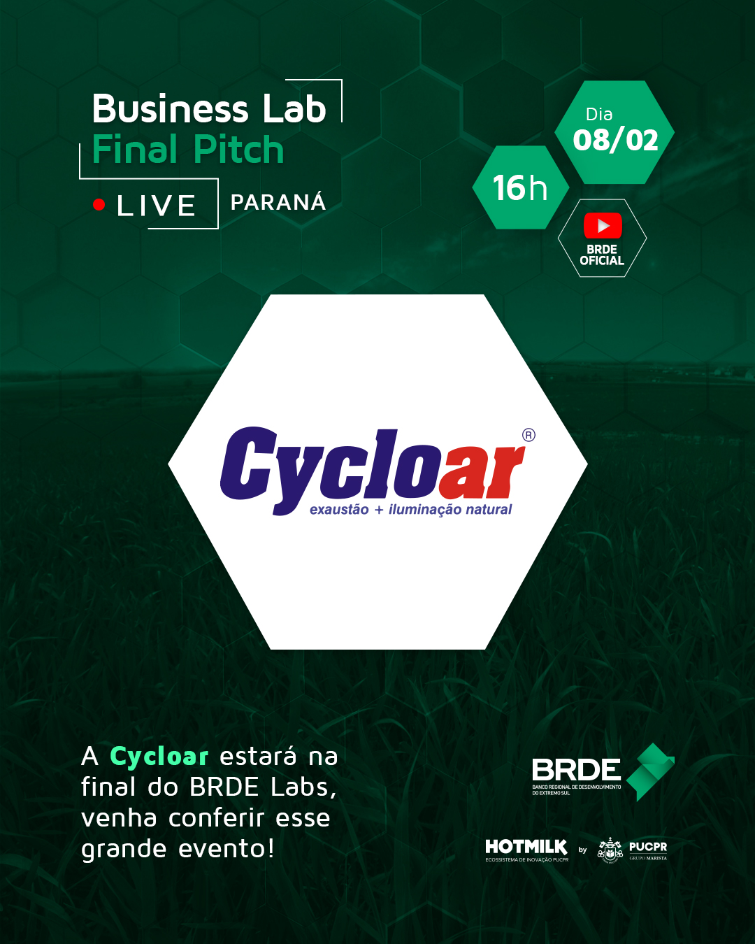 Startups finalistas do BRDE Labs apresentam seus projetos inovadores