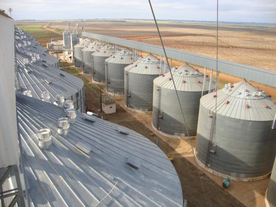 Armazenagem de Grãos: resfriamento natural da massa de grãos